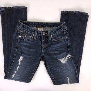 True Religion Becky Jeans Size W24 Women's